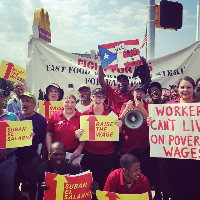SUMMER 2014 FAST FOOD WORKERS
