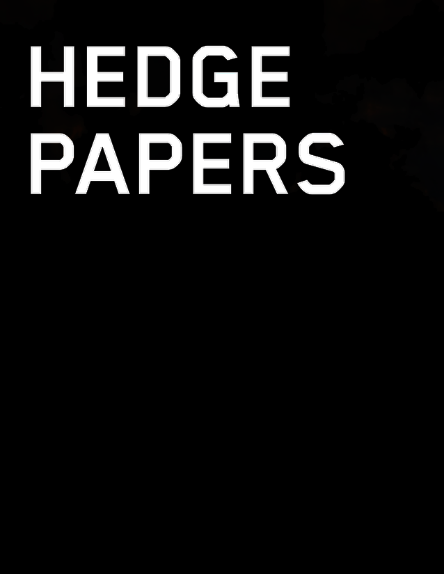 Hedge Paper cover