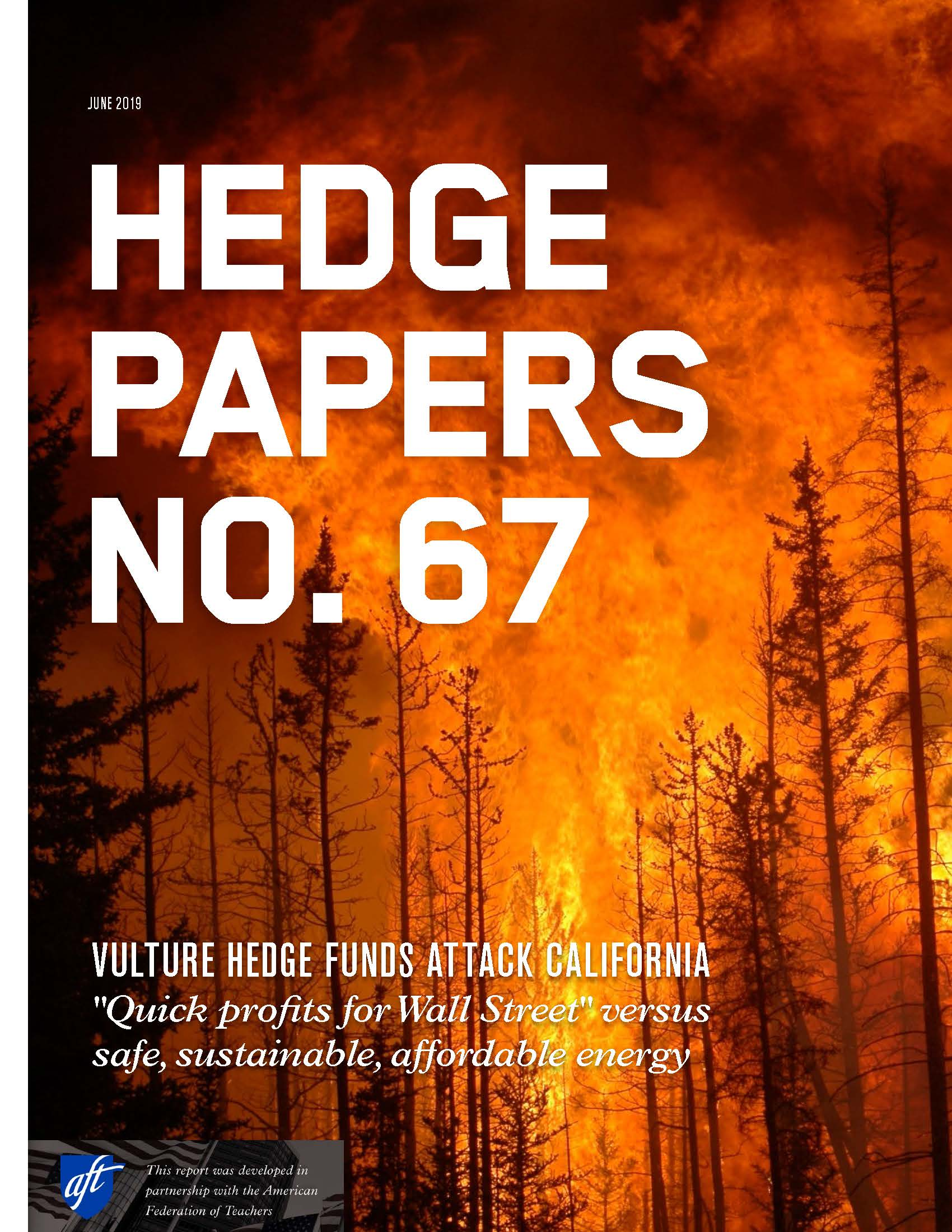 HEDGE PAPERS NO  67: VULTURE HEDGE FUNDS ATTACK CALIFORNIA « Andrew